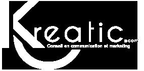logo kreatic blanc